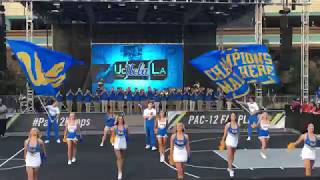 UCLA Spirit Squad at PAC-12 Tournament Fan Fest 3/9/2018
