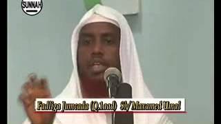Fadliga Maalinta Jimcaha & Qofkii  Ku Saliyo Nabiga Scw  Sheekh Maxamed Cabdi Umal