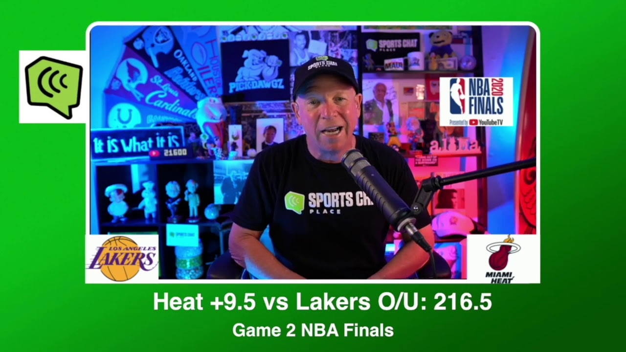 Miami Heat Vs Los Angeles Lakers Nba Finals Game 2 Friday 10 2 20 Picks Predictions Youtube