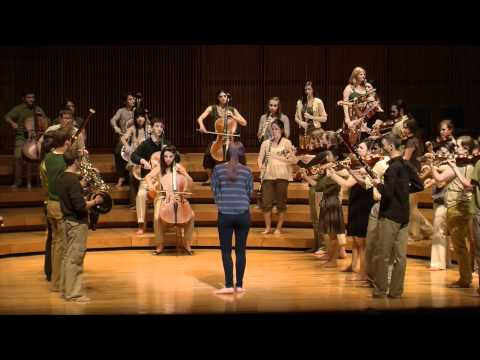 Movement and Music: University of Maryland Symphony Orchestra's Prelude to the Afternoon of a Faun