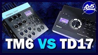 Roland TD17 VS TM6 Pro