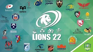Combining the Pro14 and Premiership Rugby: The Lions 22 Fantasy