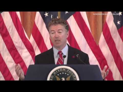 Rand Paul's FULL Speech at the Nixon Library | Spreading Liberty