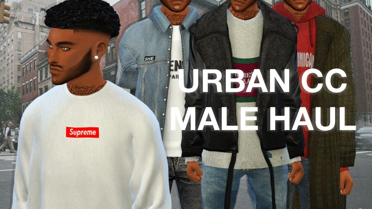 The Sims 4 166 Lit Male Cc Haul Lookbook Amp Links Youtube