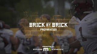 """Preparation"" Brick by Brick: Gopher Football 2015 (Episode 1)"