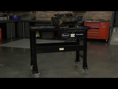 Heavy Duty Tear Down Table - Great for Engine or Transmission Disassembly - Eastwood