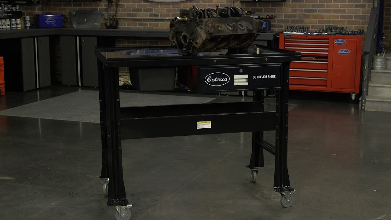 Heavy Duty Tear Down Table Great For Engine Or