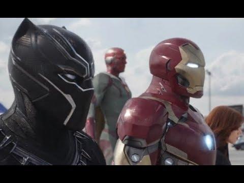 Captain America Civil War - Airport Fight Scene Part-2 (Tamil)