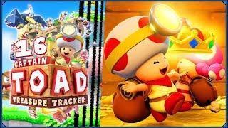 Captain Toad: Treasure Tracker #16 - Przykre sprawy i labirynt wiecznej męki!