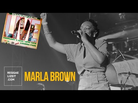 Marla Brown - Better Days @ Redemption LIVE 2016
