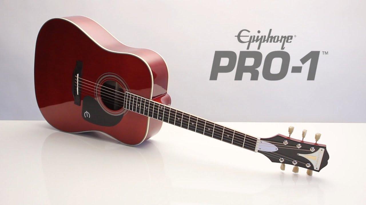 Epiphone Pro 1 Acoustic Plus Youtube