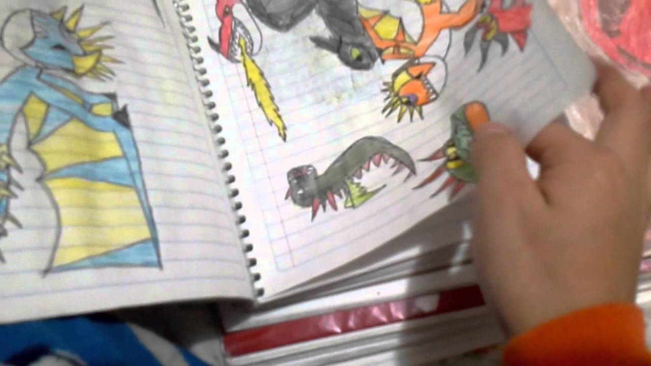 Como dibujar dragones de berk - YouTube