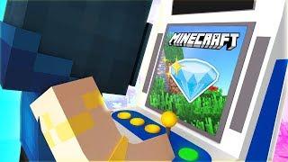 PLAYING CRAZY MINECRAFT ARCADE GAMES!