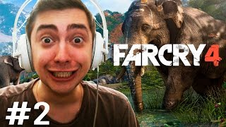 FAR CRY 4 - TORRE DE RÁDIO E LOBOS! - Parte 2