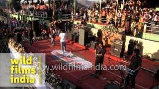 Triutrack band live at Chapchar Kut, Mizoram