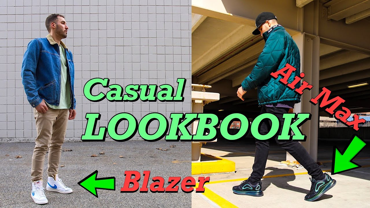 Weekend Lookbook Nike Blazer 77 Air Max 720 Nike Air Jordan