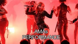 """Taylor Swift AMAs 2018 Opening Performance """"I Did Something Bad"""" Hidden Meaning"""