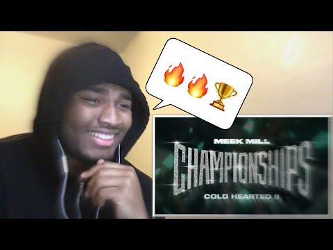 Meek Mill - Cold Hearted II REACTION!!