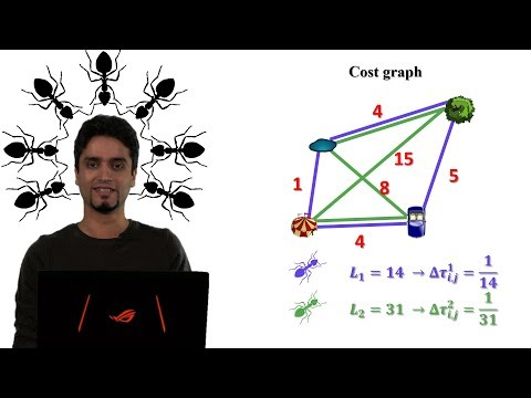 How the Ant Colony Optimization algorithm works