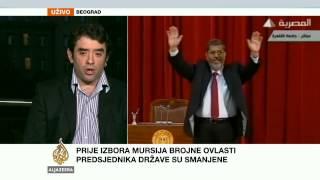 Ivan Kostić o Mursijevoj vladavini - Al Jazeera Balkans