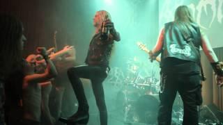 NOMINON 'Mausoleum' Live @ DEATH KILLS FEST, Stockholm, Sweden 022815