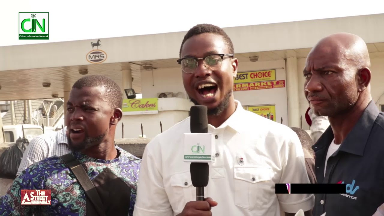 Buhari will not be recognised as President beyond May 29th ---- Reactions from the Street.