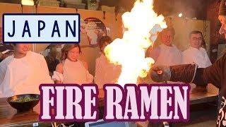 MOST DANGEROUS RAMEN?! Fire Ramen in Kyoto, Japan