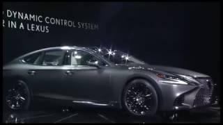 видео Автошоу 2017 года в Детройте: 2018 Lexus LS 500