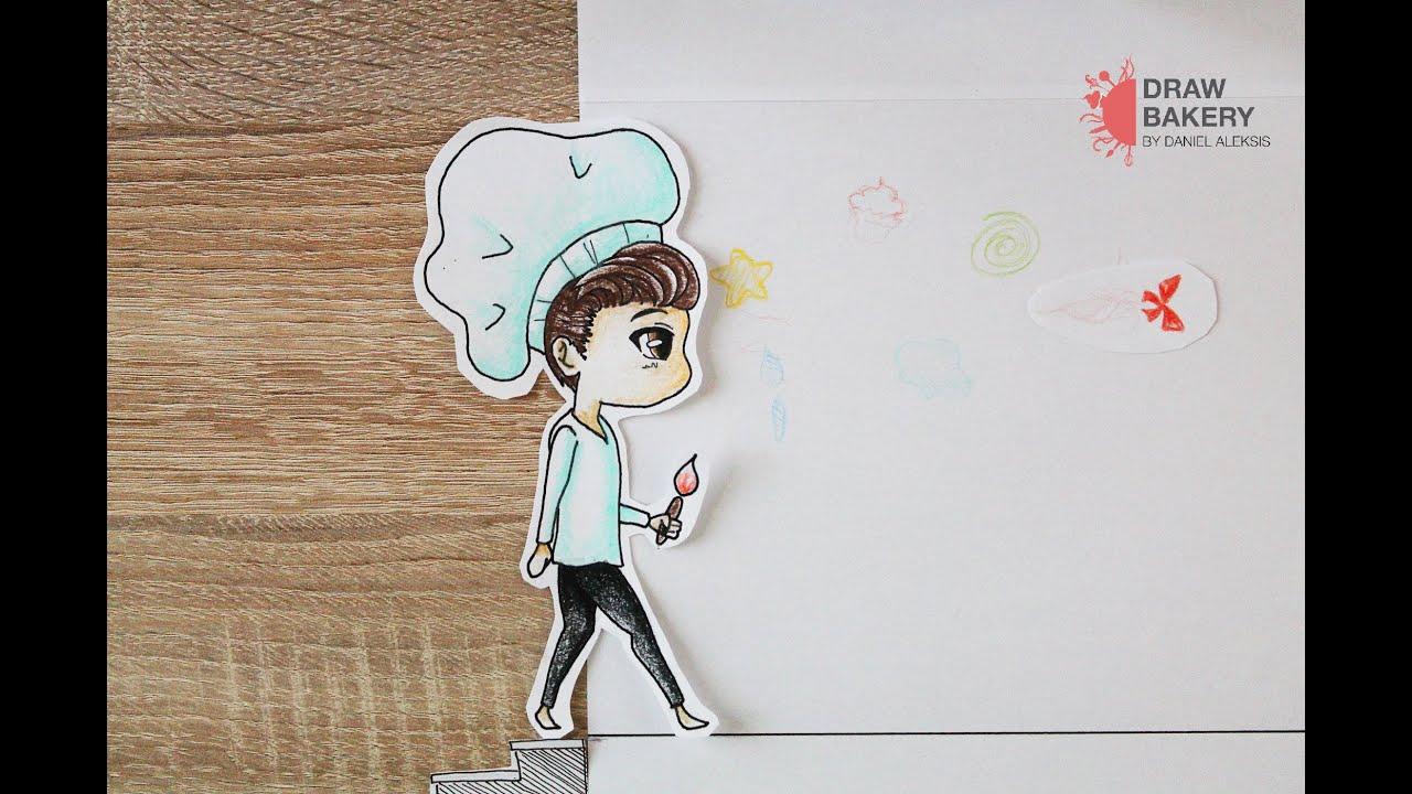 Chibi Dan Paper Stop Motion Youtube