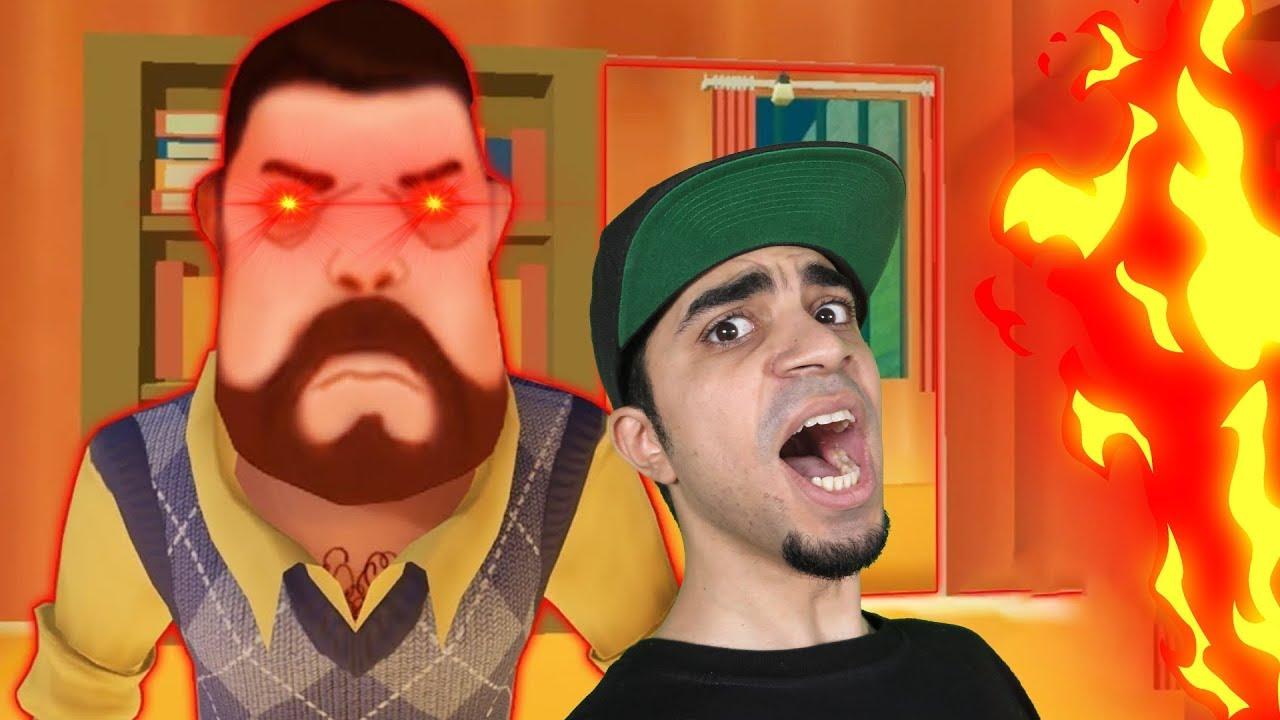الجار الغبي اكتشفت عنده غرفة سرية Dark Riddle !!