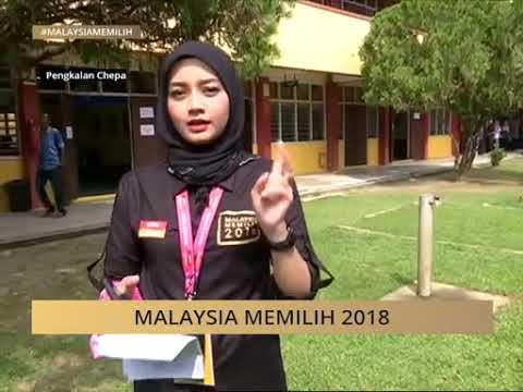 #MalaysiaMemilih: Perkembangan proses mengundi di Pengkalan Chepa, Kelantan