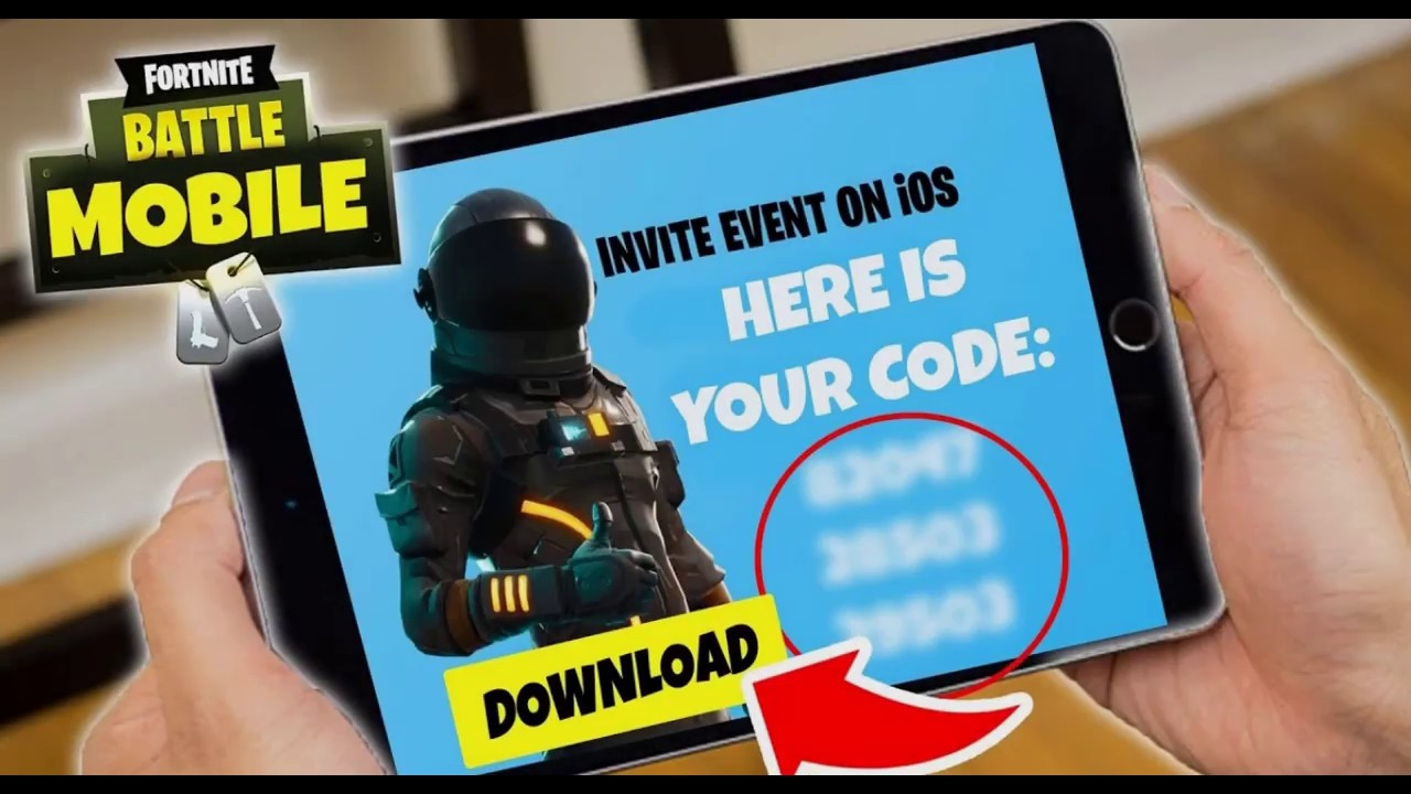 How To enter and get Fortnite invite codes For iOS and ...