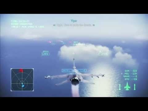 Ace Combat Infinity: Campaign Mission 2 Great Migration ( PS3 / 1080p )