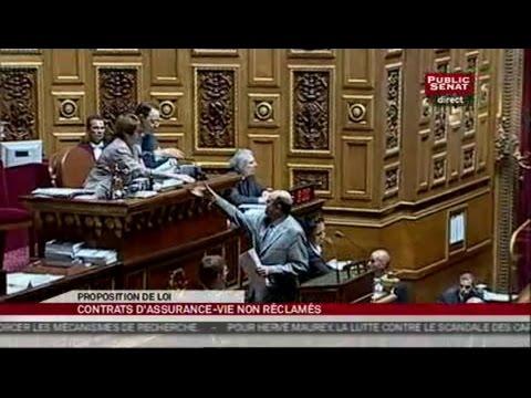 Séance proposition de loi - Maurey sur les contrats d'assurance-vie - Séance (29/04/2010)
