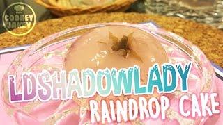 LDSHADOWLADY RAINDROP CAKE | COOKEY JAKEY