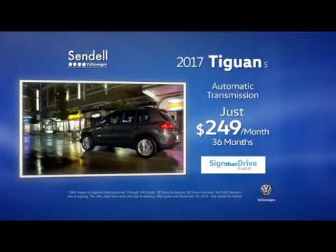 Volkswagen Tiguan Incentives at Sendell VW