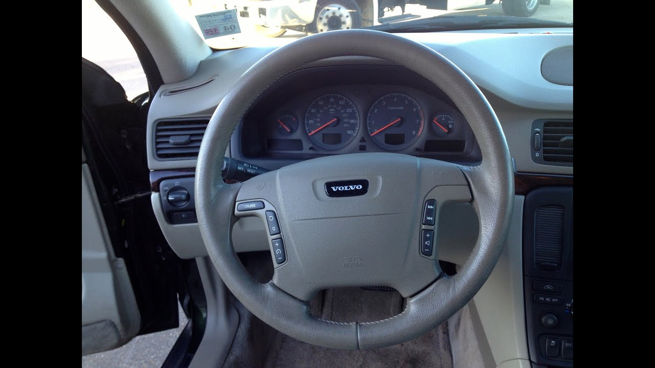 1999 Volvo S80 T6 (interior video) For Sale at Metairie Speed Shop - YouTube