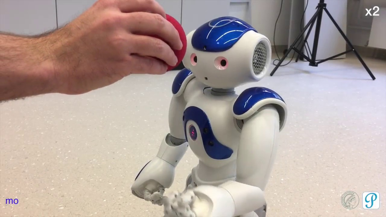 How To Create A Reactive Robot Application For Nao With Playful