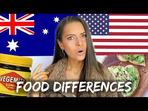 AUSTRALIA VS. AMERICA: FOOD DIFFERENCES | These Will Surprise You