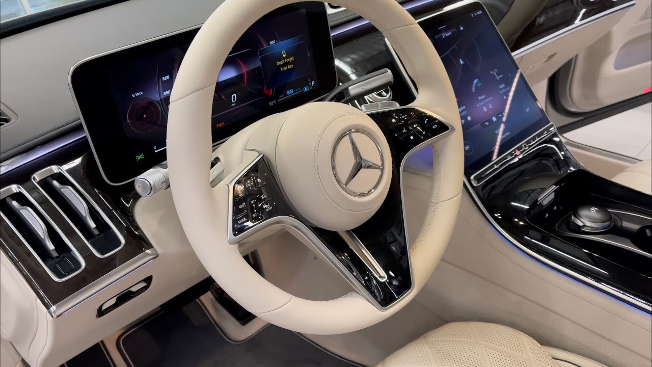 The All-New 2021 S Class Interior and Infotainment   2021 S 580 4MATIC Sedan MBUX  REVIEW