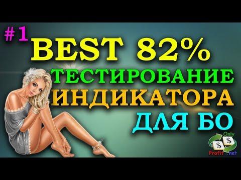 ТЕСТ ИНДИКАТОРА ДЛЯ БИНАРНЫХ ОПЦИОНОВ BEST 82% #1 BINOMO / OLYMP TRADE / POCKET OPTION / FINMAX