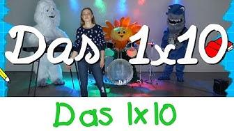 Das 1x10 Lied - Mathe Lernlieder Marie Wegener || Kinderlieder
