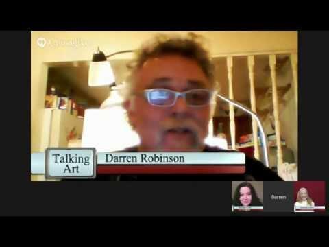 Talking Art | Acrylic Artist and Instructor Darren Robinson