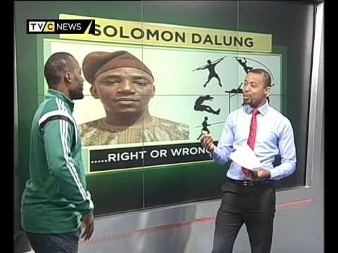 Sports Week| Nigeria names Solomon Dalung Sport minister|TVC NEWS - YouTube
