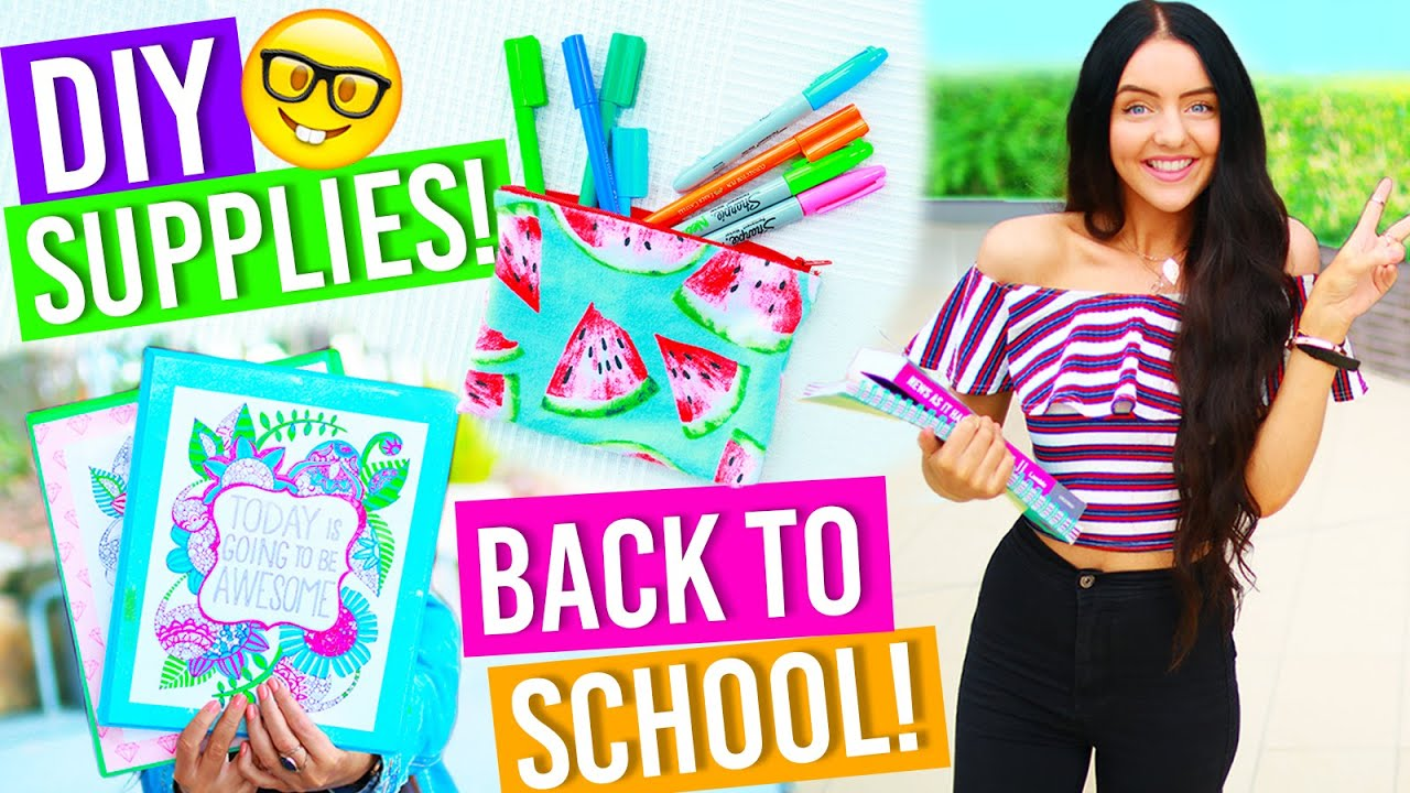 Diy Back To School Supplies 2016 What S In My Emergency Kit For