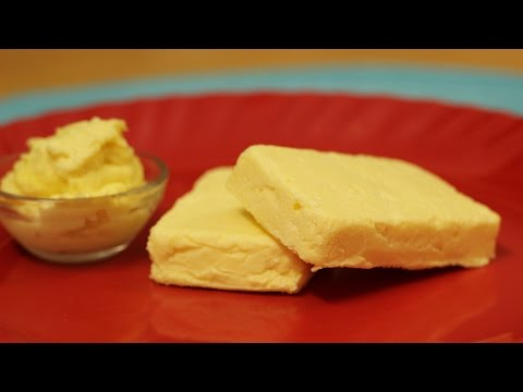 Homemade Butter Recipe - how to make butter at home