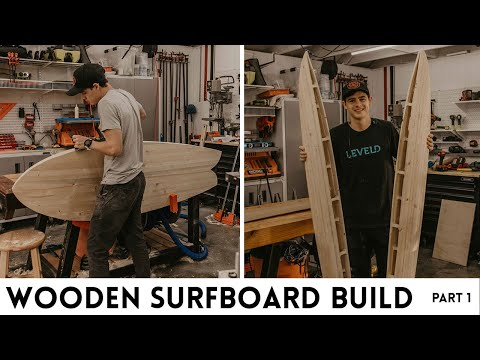 Wooden Surfboard Build Part 1 | Woodbrew