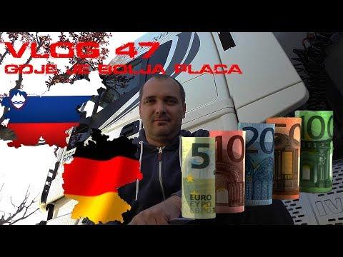 Plaća Slovenija vs Njemačka - Vlog 47