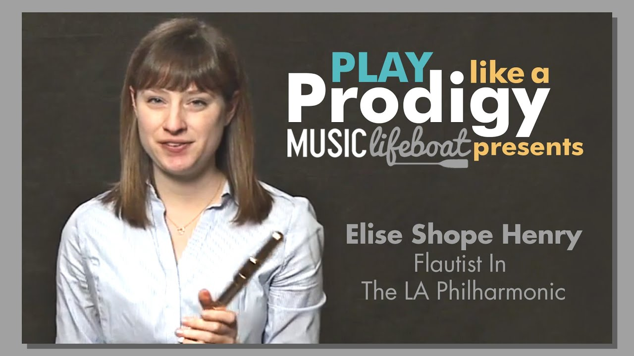 Learn From A Master: Flute  Lesson 1 Your Instrument With Master Musician Elise Shope Henry,