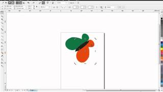 Cara Menggambar Kupu kupu Menggunakan Corel Draw X4